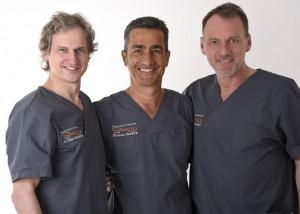 Die leitenden zahnärzte unserer zahnarztpraxis in Essen – Dr. med. dent. Peter Hentschel, Zahnarzt Thomas Herdick, Zahnarzt Frank Paulun